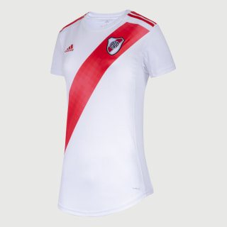 Camiseta Titular River Plate Mujer white/active red FM1181