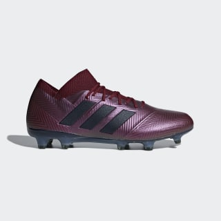 Футбольные бутсы Nemeziz 18.1 FG maroon / legend ink / collegiate burgundy DB2082
