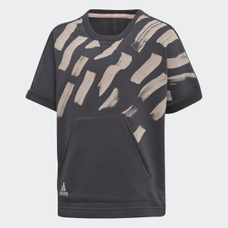 T-SHIRT (SHORT SLEEVE) LG COT TEE CARBON S18/HAZE CORAL/REFLECTIVE SILVER DJ1469