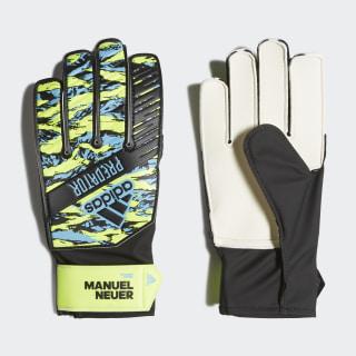 Predator Manuel Neuer Training Goalkeeper Gloves Solar Yellow / Bright Cyan / Black DY2623