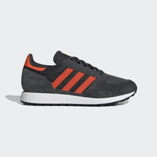 Tenis FOREST GROVE carbon / active orange / easy yellow BD7940