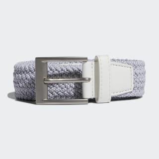 Braided Stretch Belt White / Grey Three DP7427