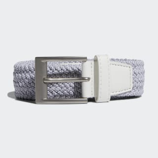 เข็มขัด Braided Stretch White / Grey Three DP7427