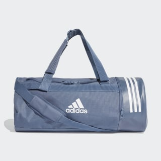 Convertible 3-Stripes Duffel Bag Medium Tech Ink / White / White DZ8693