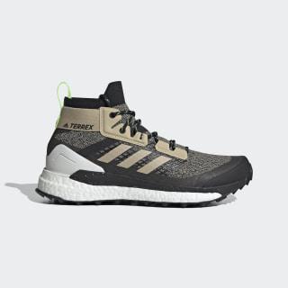 Terrex Free Hiker Hiking Shoes Savannah / Core Black / Signal Green EF2156