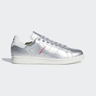 Sapatos Stan Smith Silver Met. / Silver Met. / Blue Tint B41750
