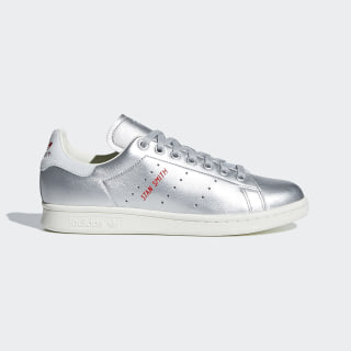 Stan Smith Shoes Silver Met. / Silver Met. / Blue Tint B41750