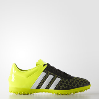 Calzado para Fútbol Ace 15.3 Pasto Artificial CORE BLACK/WHITE/SOLAR YELLOW B27033