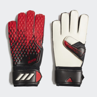 Guantes portero Predator 20 Match Black / Active Red FH7286