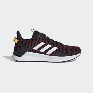 Zapatillas Questar Ride Core Black / Cloud White / Maroon EE8371