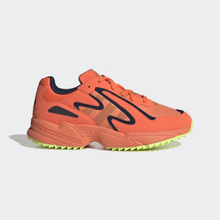 Yung-96 Chasm Trail Shoes Hi-Res Coral / Semi Coral / Hi-Res Yellow EF8974