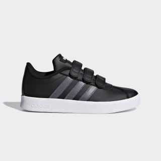 VL Court 2.0 Shoes Core Black / Grey / Cloud White F36387
