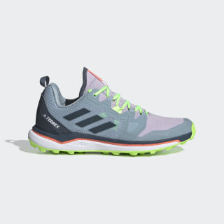 Chaussure de Trail Running Terrex Agravic Purple Tint / Legacy Blue / Signal Green EF2172