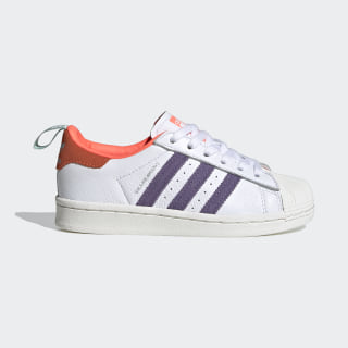 Superstar Girls Are Awesome Schuh Cloud White / Signal Coral / Icey Pink FW8112