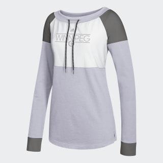 Jets French Terry Sweatshirt Nhl-Wje-524 / White / Medium Grey Heather / Charcoal DM7823