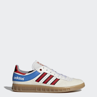 online store b6fcb 8ddd1 Handball Top Shoes Vintage White   Tactile Red   Bright Royal BY9535
