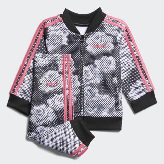 Printed Tricot Set Black CM0188