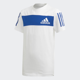 Tričko Sport ID White / Collegiate Royal ED6506