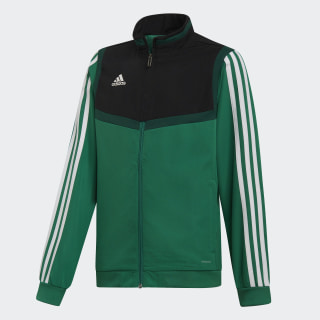 Tiro 19 Presentation Jacket Bold Green / White DW4790