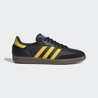 Samba OG Shoes Core Black / Eqt Yellow / Bluebird EG9326