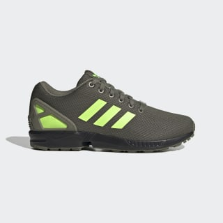 ZX Flux Shoes Legacy Green / Signal Green / Core Black FV7921
