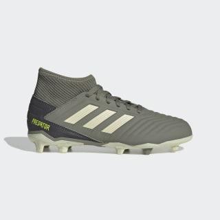 Calzado de Fútbol Predator 19.3 Terreno Firme Legacy Green / Sand / Solar Yellow EF8215