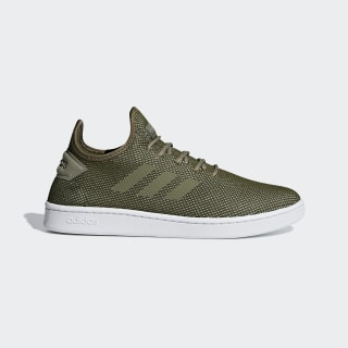 Zapatilla Court Adapt Green /  Raw Khaki  /  Trace Cargo F36420