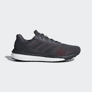 Solar Drive ST Shoes Grey Five / Carbon / Hi-Res Red AQ0325