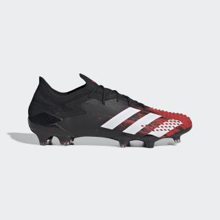 Zapatos de fútbol Predator Mutator 20.1 Terreno Firme Core Black / Cloud White / Active Red EF2206