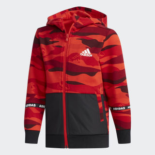 Chaqueta Spacer Active Red / Black DY9227