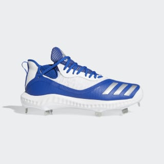 Icon V Bounce Iced Out Cleats Collegiate Royal / Silver Metallic / Cloud White EE4129