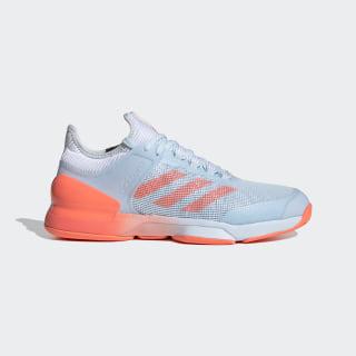 Sapatos adizero Ubersonic 2.0 Sky Tint / Signal Coral / Cloud White FW3533