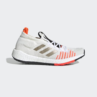 Pulseboost HD Shoes Core White / Cyber Metallic / Solar Red EF0914