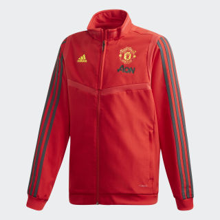 Manchester United Presentation Jacket Collegiate Red / Solid Grey DX9042