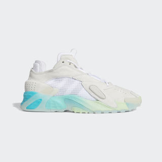 Streetball Shoes Cloud White / Glow Green / Hi-Res Aqua EF1908