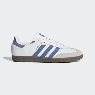 Samba OG Shoes Ftwr White / Trace Royal / Crystal White B44629