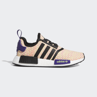 NMD_R1 Shoes Crystal White / Black / Solar Yellow EE4402