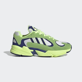 Yung-1 Shoes Solar Green / Real Purple / Hi-Res Yellow EG2922