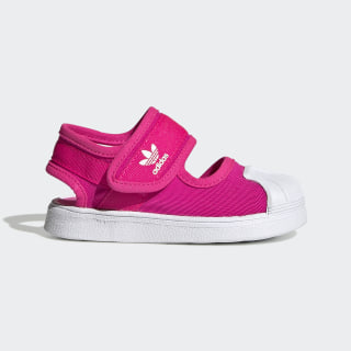 Superstar 360 Sandalet Shock Pink / Cloud White / Cloud White EG5712
