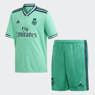 Miniconjunto tercera equipación Real Madrid Hi-Res Green DX8919