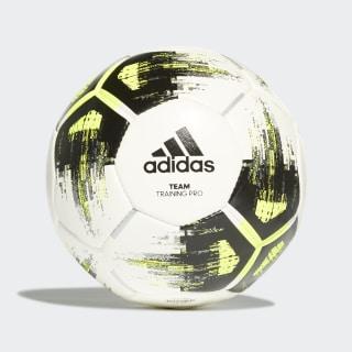 Balón Team Training Pro White / Solar Yellow / Black / Iron Metallic CZ2233