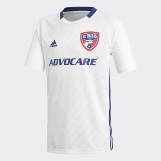 FC Dallas Away Jersey White / Night Blue DP3069