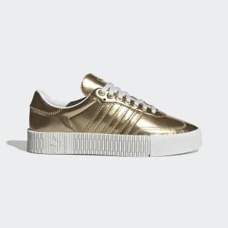 SAMBAROSE Schuh Gold Metallic / Gold Metallic / Crystal White FV4319