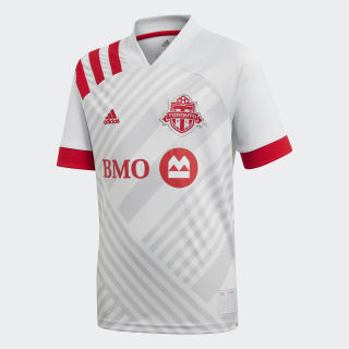 Toronto FC Away Jersey Clear Grey / Grey Two / Scarlet EH8663