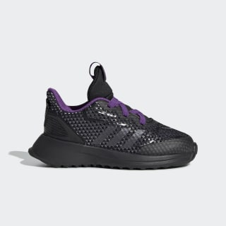 Marvel Black Panther RapidaRun Shoes Core Black / Night Metallic / Active Purple G27552