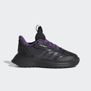 Tenis Marvel Black Panther RapidaRun Core Black / Night Metallic / Active Purple G27552