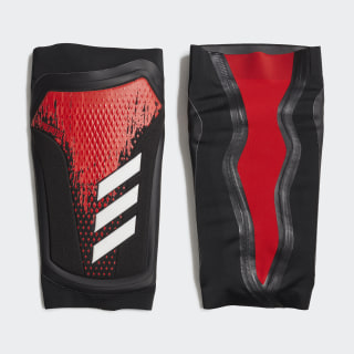 Predator 20 Pro Shin Guards Black / Active Red FM2409