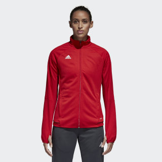 Tiro 17 Training Jacket Power Red / Black / White BQ8243