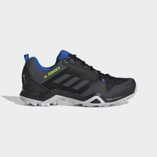 Terrex AX3 GORE-TEX Hiking Shoes Core Black / Solid Grey / Signal Green EF3311