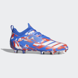 adizero Tagged Cleats Cloud White / Hi-Res Red / Hi-Res Blue DB0623